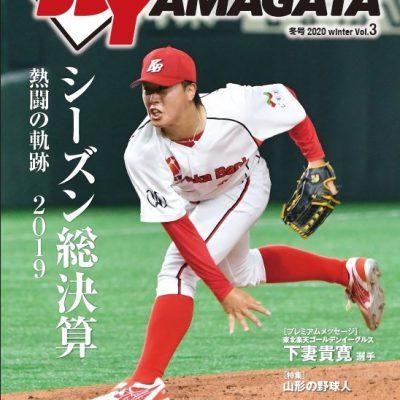 ベースボールヤマガタVOL.3表紙