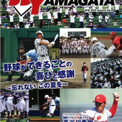 ベースボールヤマガタVOL.5表紙